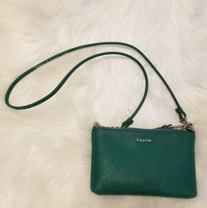 Green Calvin Klein purse